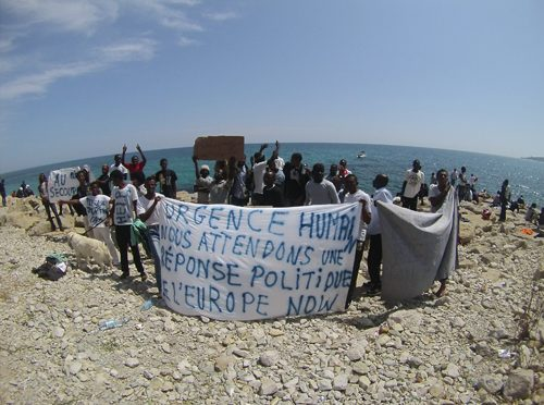 Mobilisation et collecte en soutien aux migrants bloqués à Vintimille