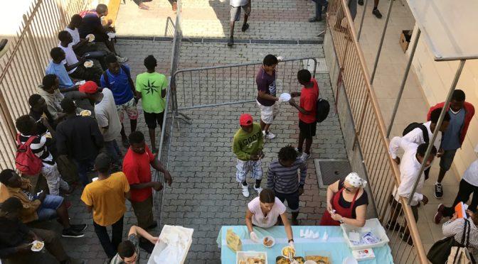 Collecte pour les réfugiés bloqués à Vintimille