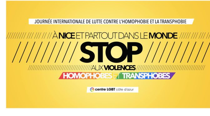 Nice : Stop aux violences LGBT-phobes !