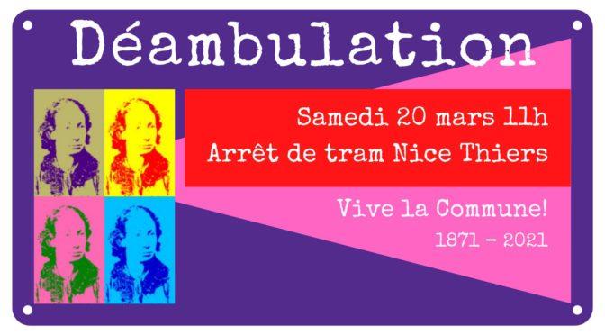 Ouverture du festival «Vive la Commune !»