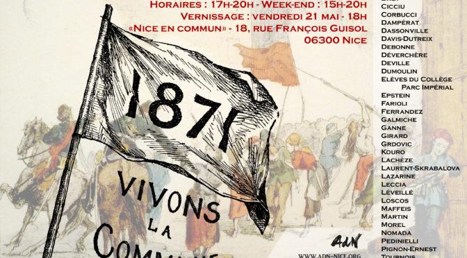 Exposition AdN «Vivons la Commune !» 21-29 mai