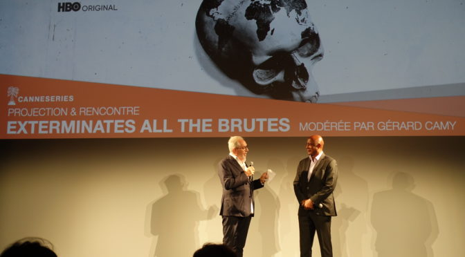 Raoul Peck «Exterminate all the brutes» au festival CANNESERIES