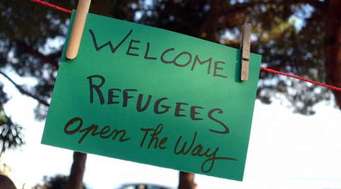 Exposition/reportage photo AdN : Welcome Refugees !