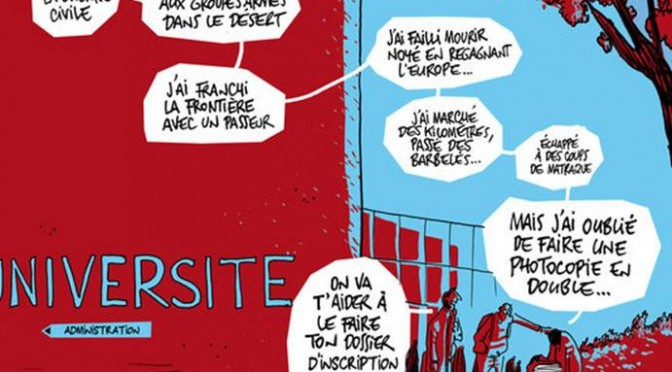 L'Université de Nice ouvre ses portes aux étudiants réfugiés .