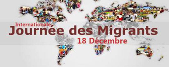 Journée internationale des migrant-e-s.