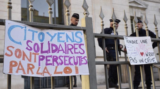 Nice : nouvelle condamnation d'un militant solidaire