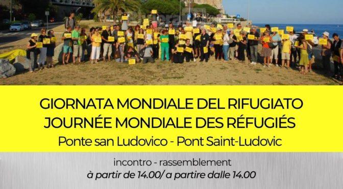 Flashmob pour la journée mondiale des réfugié.e.s